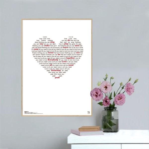 Få din personlige plakat med egen tekst - KoZmo Design Store